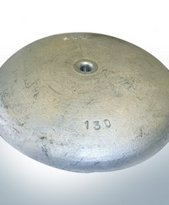 Anodi a disco Ø 130mm | M8 (Zinco)