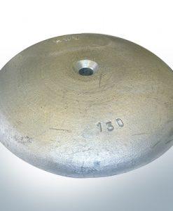 Anodi a disco Ø 130mm |  foro passante (AlZn5In)
