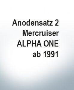 Serie di anodi | Mercruiser ALPHA ONE à partir de 1991 (Zinco)