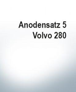 Serie di anodi | Volvo 280 (Zinco)