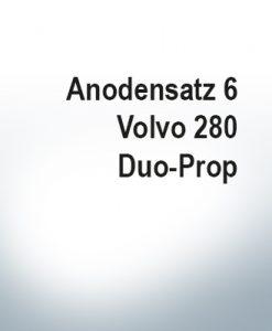 Serie di anodi | Volvo 280 Duo-Prop (Zinco)