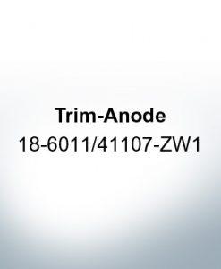 Anodi compatibili con Honda   Anodo di rifinitura 18-6011/41107-ZW1 (Zinco)