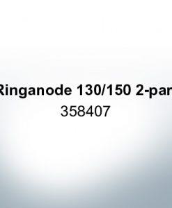 Anodi compatibili con Volvo Penta | Anodo ad anello 130/150 due parti 358407 (Zinco)