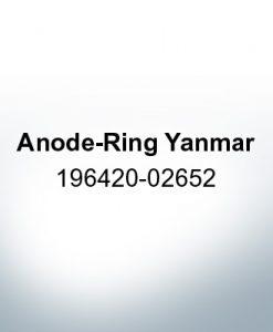 Anodi compatibili con Yamaha e Yanmar | Anodo ad anello Yanmar 196420-02652 (Zinco)