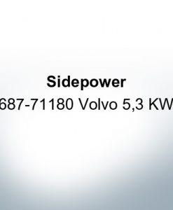 Sidepower 687-71180 Volvo 5,3 KW (Zinco)