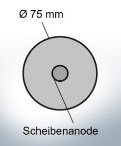 Anodi a disco Ø 75 mm | Paio (Zinco)