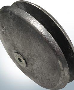 Anodi a disco Ø 100 mm | Paio (Zinco) | 9800 9801