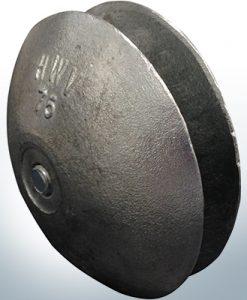 Anodi a disco Ø 75 mm | Paio (Zinco) | 9805 9806