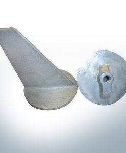 Anodi compatibili con Mercury | Anodo di rifinitura lungo 34127 (AlZn5In)| 9705AL