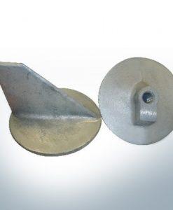 Anodi compatibili con Mercury | Anodo di rifinitura -40 664-55371 (AlZn5In) | 9716AL