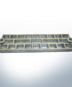 Anodi compatibili con Mercury | anodo di griglia 43396 (AlZn5In) | 9711AL