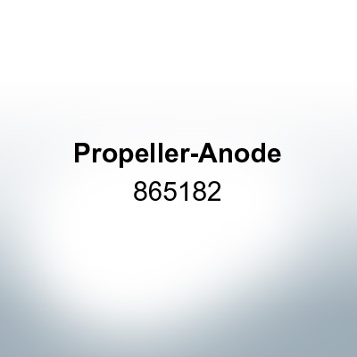 Anodes compatible to Mercury   Propeller-Anode 865182 (AlZn5In)   9719AL
