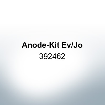 Anodes compatible to Mercury | Anode-Kit Ev/Jo 392462 (Zinc) | 9531
