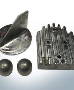 Serie di anodi | Mercruiser ALPHA ONE jusqu'à 1990 (Zinco) | 9709 9712 9715
