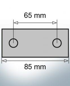Block- and Ribbon-Anodes Block L85/65 (AlZn5In)   9311AL