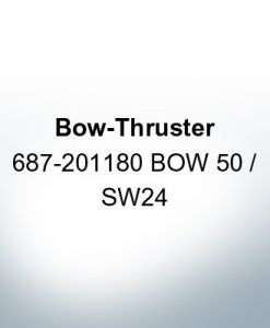 Bow-Thruster 687-201180 BOW 50 / SW24 (Zinc) | 9615
