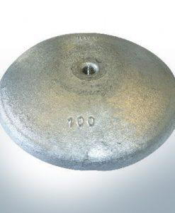 Anodi a disco Ø 100mm   M10 (AlZn5In)   9800AL