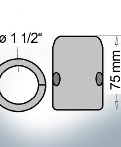 Shaft-Anodes with imperial inner diameter 1 1/2'' (Zinc)   9018