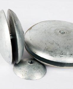 Anodi a disco, a vaso e a linguetta di rifinitura