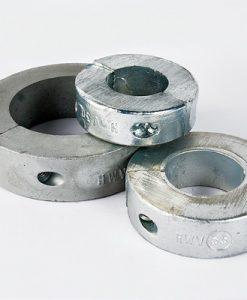 Anelli dell'anodo ad onda zinco