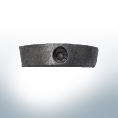 Anodes compatible to Volvo Penta | Propeller-Anodes 850982 & 852018| (AlZn5In) | 9214AL