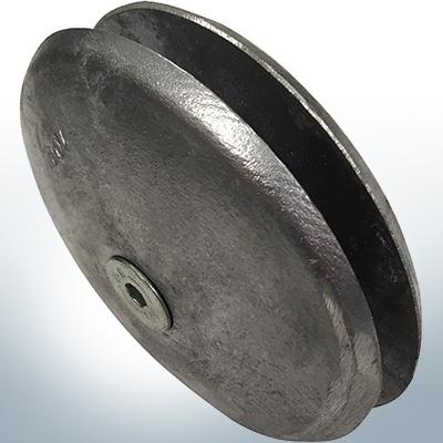 Anodi a disco Ø 100 mm   Paio (Zinco)   9800 9801