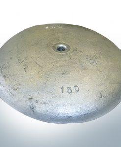 Anodi a disco Ø 130mm | M8 (AlZn5In) | 9814AL