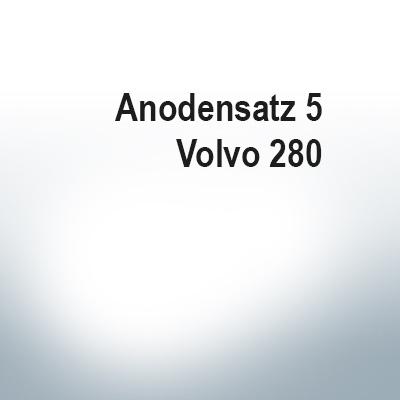 Sets of anodes | Volvo 280 (AlZn5In) | 9205AL 9207AL