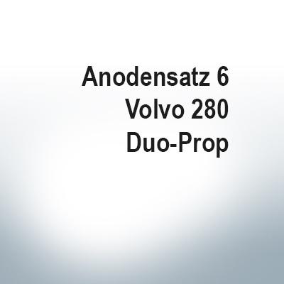 Sets of anodes | Volvo 280 Duo-Prop (AlZn5In) | 9203AL 9207AL