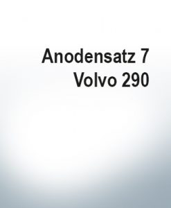Sets of anodes | Volvo 290 (AlZn5In) | 9204AL 9205AL 9228AL