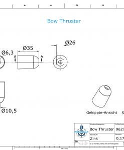 Bow Thruster SW26 (Zinc)   9627