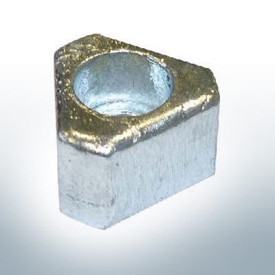 """Anodes compatible to Gori   Bow-Thruster-Anode 15""""-16,5""""   1407210000   1472100000   (AlZn5In)   9624AL"""