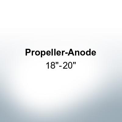 "Anodes compatible to Gori   3-blade Saildrive, Ref.: 1553950000 18""-20"" (Zinc)   9630"