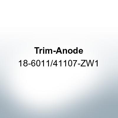 Anodes compatible to Honda   Trim-Anode 18-6011/41107-ZW1 (Zinc)   9543