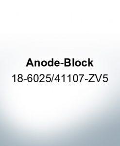 Anodes compatible to Honda | Anode-Block 18-6025/41107-ZV5 (Zinc) | 9545