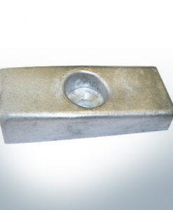 Anodi compatibili con Mercury | Anodo dell'albero 826134 (Zinco) | 9700