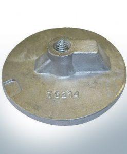 """Anodi compatibili con Mercury   Uni plate 1 2 76214 7/16"""" Whitw. (AlZn5In)   9701AL"""