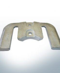 Anodi compatibili con Mercury   Anode á Piastra 1 2 821630 (AlZn5In)   9702AL
