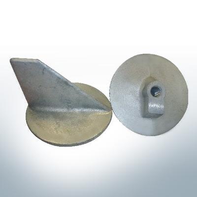 Anodi compatibili con Mercury | Anodo di rifinitura -40 664-55371 (Zinco) | 9716