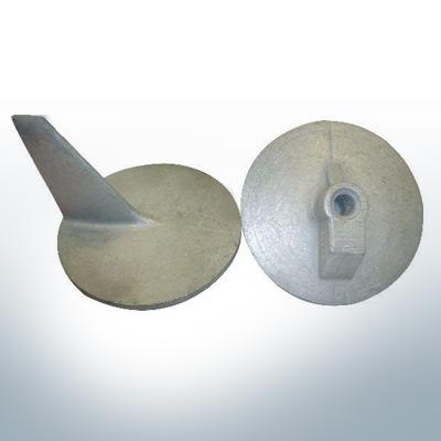 Anodi compatibili con Mercury | Anodo di rifinitura QSS 46399 (AlZn5In) | 9707AL