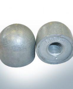 """Anodi compatibili con Mercury   Dadi a cupola 1/2"""" 55989 (AlZn5In)   9709AL"""