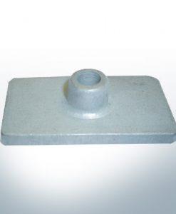 Anodi compatibili con Mercury | Anode á Piastra 85824 (AlZn5In) | 9710AL