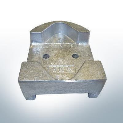 Anodi compatibili con Mercury | Anodes de bloc 821631 (AlZn5In) | 9712AL