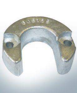 Anodi compatibili con Mercury | anodo cilindro piccola 806189 (AlZn5In) | 9713AL