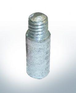 Anodi compatibili con Mercury | Anodi a spillo (raffreddamento) 811487 (AlZn5In) | 9714AL
