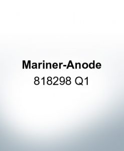 Anodes compatible to Mercury | Mariner-Anode 818298 Q1 (AlZn5In) | 9718AL