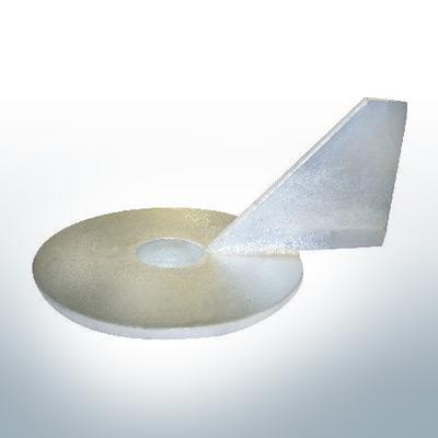 Anodi compatibili con Mercury | Anodo di rifinitura Ev/Jo 316981-1 (Zinco) | 9530
