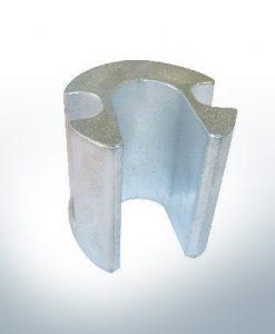Anodi compatibili con Mercury | anodo cilindro grande 806190 (AlZn5In) | 9721AL