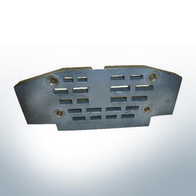 Anodi compatibili con Mercury | anodo di griglia grande 982438 (Zinco) | 9525