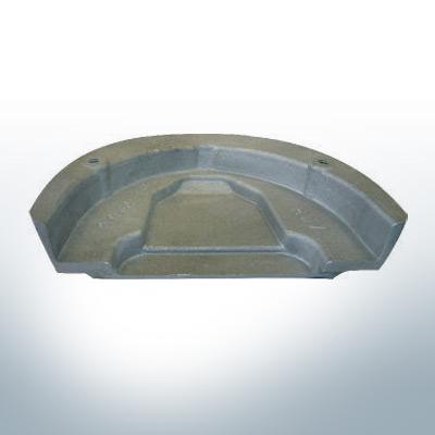 Anodi compatibili con Mercury   Anode á Piastra Cobra 984513 (Zinco)   9527